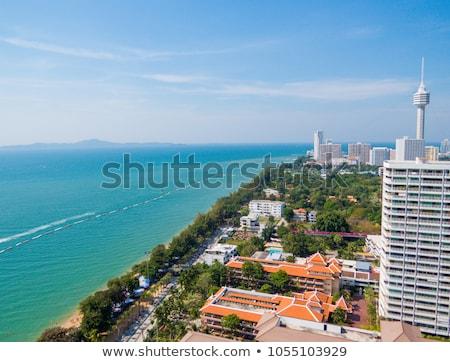 thailand beach exotic holidays tropical tourism asia sea landsca Stock photo © travelphotography