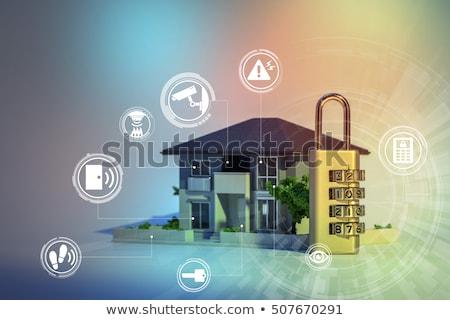 hırsız · Alarm · önleme · hırsızlık · soygun - stok fotoğraf © papa1266