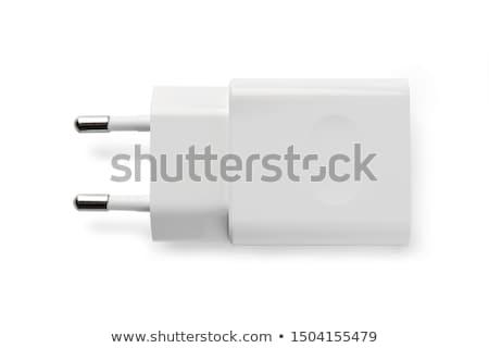 USB connector close-up. Stock photo © borysshevchuk