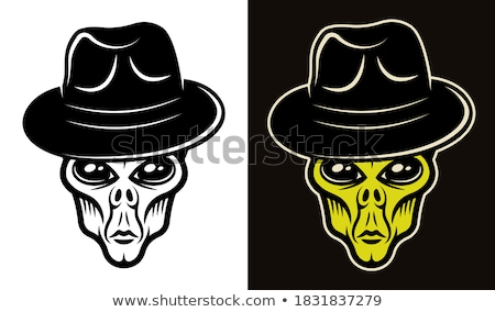 Anonymous Faces in Black, Color and T-shirts Stock photo © Kaludov