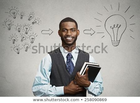 Portrait of a brainy university student Stock photo © photography33
