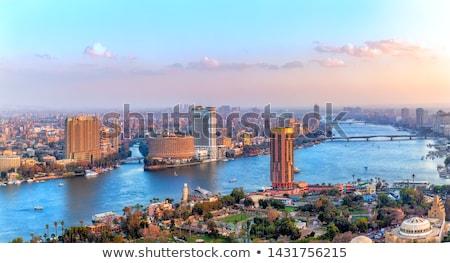 エジプト · 川 · ルクソール · ボート · 船 · アフリカ - ストックフォト © ruzanna