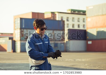tradesman wearing sunglasses stock photo © photography33