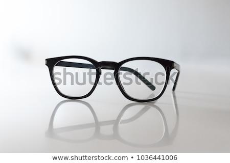 óculos quadros sombra homem moda projeto Foto stock © experimental
