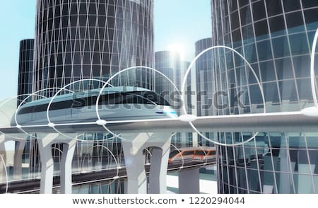 Magnetic levitation train Stock photo © Taiga