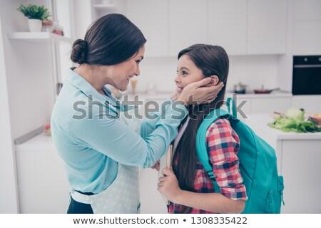 гордый мамы довольно конечно матери женщины Сток-фото © cboswell