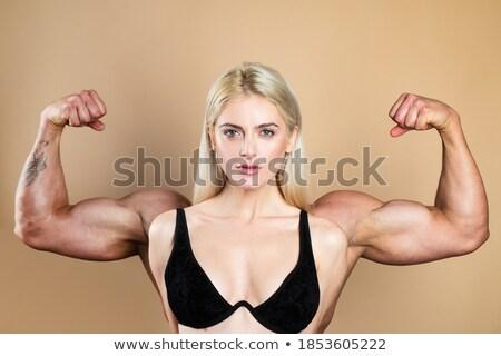 женщины · успех · рук · белый · стороны · модель - Сток-фото © get4net
