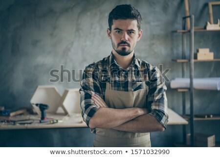 Tradesman in a photo studio Stock photo © photography33