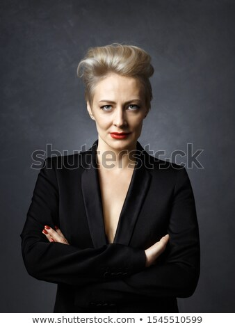 Portrait of strict business woman Stock photo © vankad