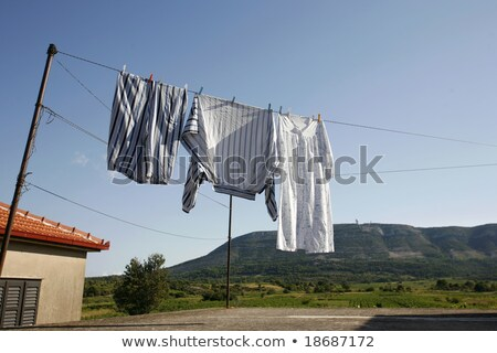 panties hung on the clothes line Stock photo © Grazvydas