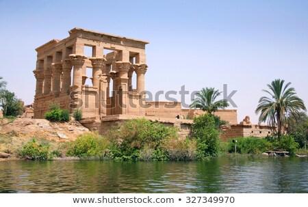 храма Египет здании синий путешествия каменные Сток-фото © TanArt