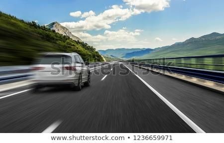 Speed on highway Stock photo © ssuaphoto