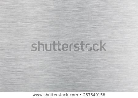 Alumínium textúra tükröződő háttér ipari tapéta Stock fotó © ArenaCreative
