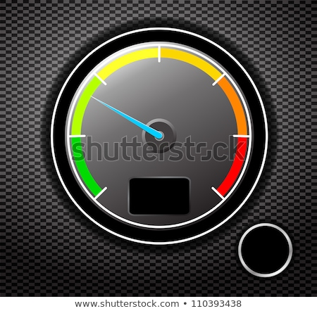 Fuel & Temperature Guage stock photo © Editorial