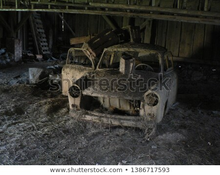 Old German  car Stock photo © taden