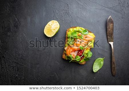 apéritif · avocat · alimentaire · verre · manger - photo stock © m-studio