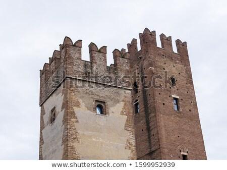 Villafranca di Verona Castello  Stock photo © LianeM