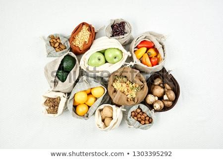 elma · gıda · depolamak · arka · plan · grup · kırmızı - stok fotoğraf © Catuncia