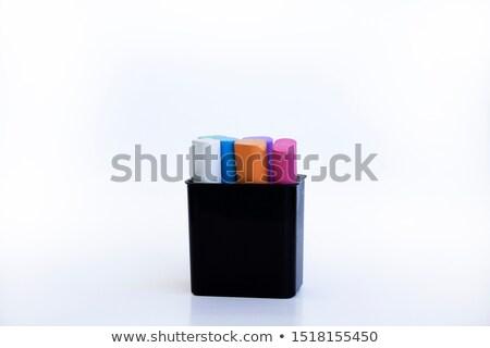 Iskola gyerekek szett rajz szerszámok felszerlés Stock fotó © HouseBrasil