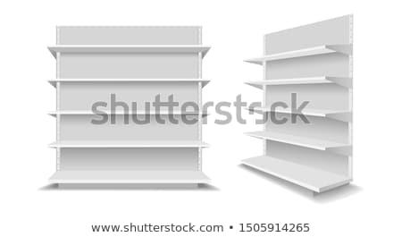 Vecteur vide plateau propre lumière 3D Photo stock © filip_dokladal