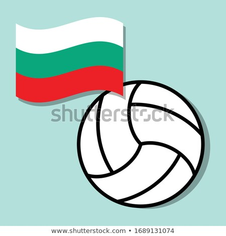 Stock photo: Bulgarian Volleyball Team