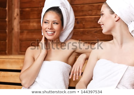 Woman at spa room wrapped in towel  Stock photo © CandyboxPhoto
