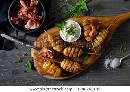 Patates ot gıda sağlık süt Stok fotoğraf © joker