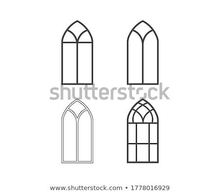church window stock photo © gemenacom