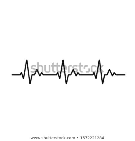 Lijn 3d illustration hart technologie gezondheid Stockfoto © Spectral