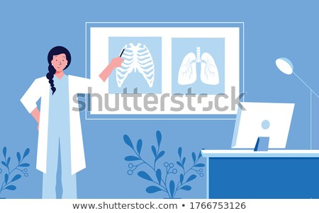 There is the doctor's room ! Stock photo © stockyimages