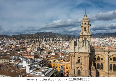 Cathedral in Malaga, Andalusia, Spain Stock photo © amok