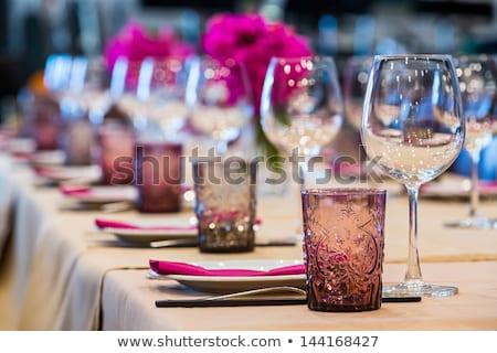 banquet table set up Stock photo © tangducminh