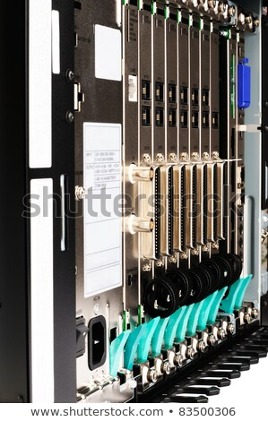 Stock photo: Phone switch front view