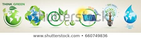 Preserve Save Icons Stock photo © -TAlex-