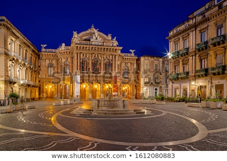 Teatro Massimo Bellini, Catania, Sicily, Italy Stock photo © ankarb