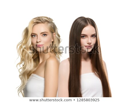 Different hair style for woman Stock photo © anastasiya_popov