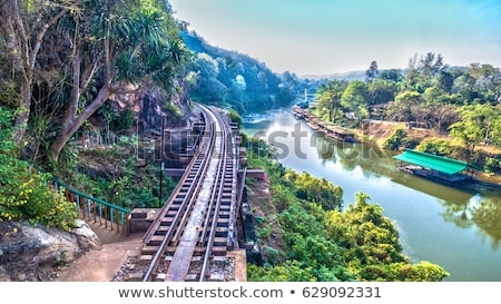 Kwai river in Thailand at morning Stock photo © ssuaphoto