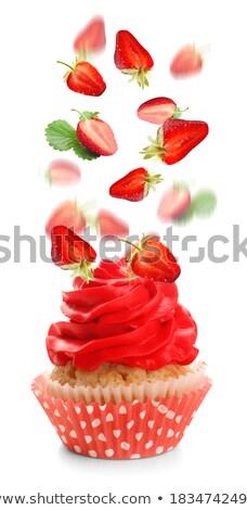красный Kid Sweet украшение Сток-фото © AndreyCherkasov