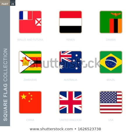 Brazil and Wallis and Futuna Flags Stock photo © Istanbul2009