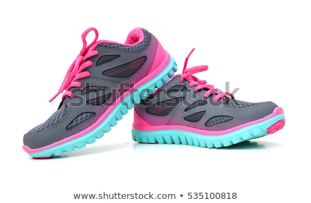 isolated pink shoes on a white background stock photo © shutswis