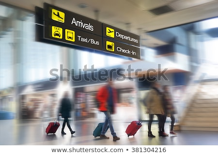 opened gate in airport stock photo © ssuaphoto