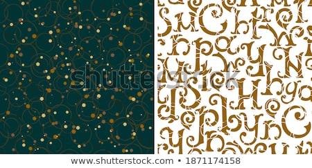 ingesteld · variatie · sneeuwvlokken · geïsoleerd · illustratie · abstract - stockfoto © smeagorl