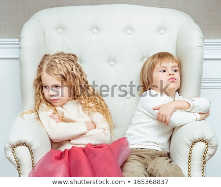 Boys and girls being hurt Stock photo © bluering
