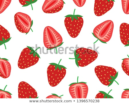 Seamless strawberry pattern Stock photo © pakete