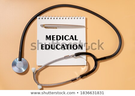 education word on plate stock photo © fuzzbones0