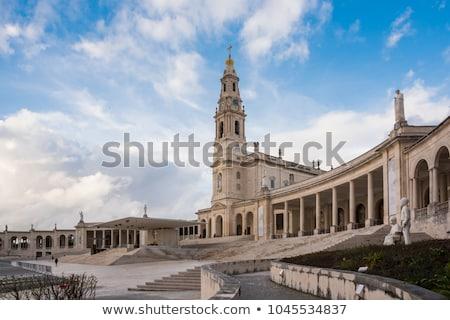 kilátás · Portugália · stílus · kereszt · templom · istentisztelet - stock fotó © luissantos84