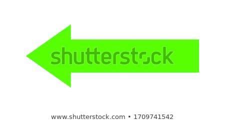 groene · pijl · beneden · business · abstract · kleur - stockfoto © MONARX3D