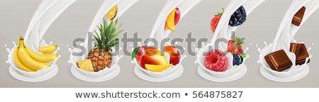 cereal · secas · frutas · nozes · delicioso · saudável - foto stock © tycoon