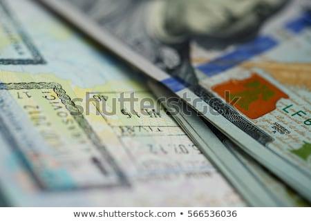 Americano dinero superior pasaporte negocios Foto stock © vlad_star