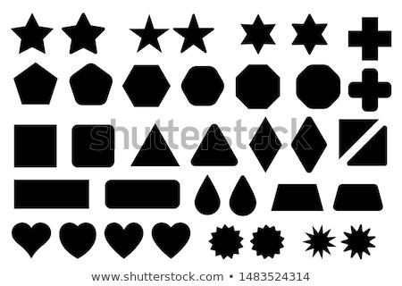 Diamond shape icon isolated, vector illustration Stock photo © cosveta